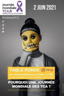 Affiche table ronde FFAB du 2 juin 2021