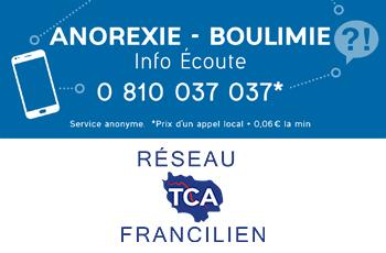 Ouverture de la ligne téléphonique TCA ''Anorexie Boulimie Info Écoute'' 0810 037 037, de 9h à 19h